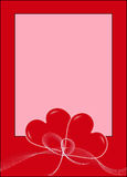 Valentine's postal Stock Images