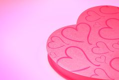 Valentine's present Royalty Free Stock Photo