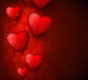 Valentine's red background. Stock Image