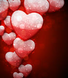 Valentine's red background. Stock Photography