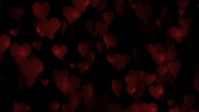 Valentine's Red Heart stock footage