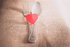 Valentine's Romantic Dinner concept Stock Images