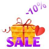 Valentine's sale Stock Image