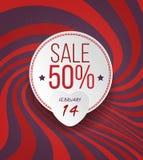 Valentine's Sale Grunge Background Stock Photos