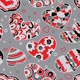 Valentine's seamless Stock Image