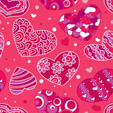 Valentine's seamless Royalty Free Stock Photography
