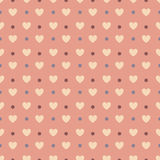 Valentine's seamless pattern Royalty Free Stock Photography