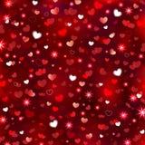 Valentine's Sparkling Background Royalty Free Stock Photos