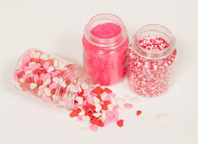 Valentine's Sprinkles Royalty Free Stock Images