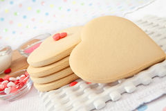 Valentine's Sugar Cookie Stock Image