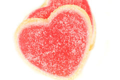 Valentine's sweet hearts Stock Photo