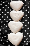 Valentine's  sweet hearts Stock Photos