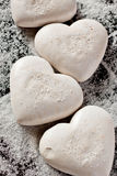 Valentine's  sweet hearts Stock Image
