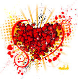 Valentine's theme Stock Photography