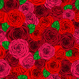 Valentine`s and wedding day pattern Royalty Free Stock Image