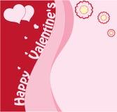 Valentine's1 heureux Images libres de droits