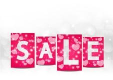 Valentine sale Royalty Free Stock Photos