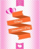 Valentine Sale Design Template illustration, for website content, poster, invitation card and brochure.  easy to modify Stock Photo