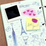 Valentine scrapbook Stock Photography