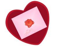 Valentine seal Stock Photography