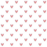 Valentine seamless background with hearts Royalty Free Stock Images