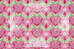 Valentine seamless backgrounds pattern. Gentle Valentine seamless backgrounds pattern with grunge elements Stock Photo