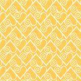 Valentine seamless hearts pattern. Royalty Free Stock Image