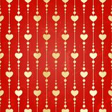 Valentine seamless hearts pattern Royalty Free Stock Photo
