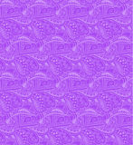 Valentine seamless hearts pattern. Violet Stock Photo