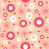 Valentine seamless pattern Royalty Free Stock Images