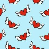 Valentine Seamless Pattern Fotos de archivo