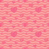 Valentine seamless pattern Royalty Free Stock Photo