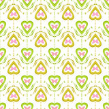 Valentine seamless pattern with hearts texture background Royalty Free Stock Photo