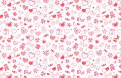Valentine seamless pattern Royalty Free Stock Image