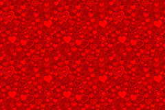 Valentine seamless pattern. Vector and illustration Stock Photography