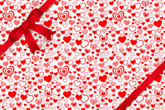 Valentine seamless pattern. Vector and illustration Stock Image