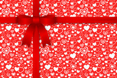 Valentine seamless pattern Stock Image