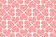 Valentine seamless pattern. Vector and illustration Stock Photos