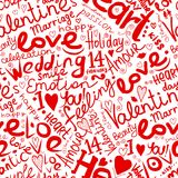 Valentine seamless pattern for your design Royalty Free Stock Photos