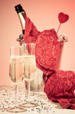 Valentine Seduction Stock Photo