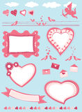 Valentine set Royalty Free Stock Image