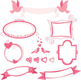 Valentine set Royalty Free Stock Photo