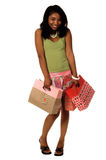 Valentine Shopper Royalty Free Stock Photo