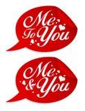 Valentine stickers. Stock Image