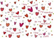 Valentine style background Stock Photo