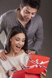 Valentine surprise Royalty Free Stock Images