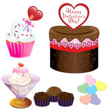 Valentine Sweets Stock Images