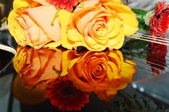 Valentine, symboles Photo libre de droits