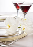 Valentine Table Royalty Free Stock Images