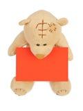 Valentine Teddy Bear arkivfoton